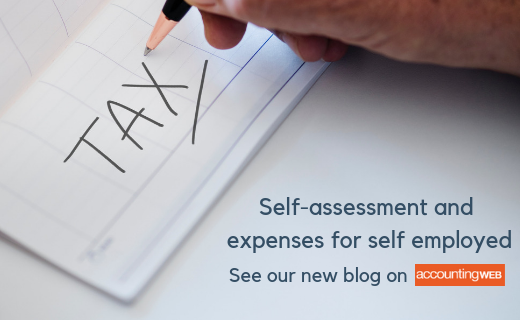 Self-assessment and expenses for self-employed